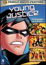 Young Justice - Season One - Vol. 1-3