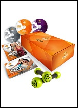 Zumba Fitness Gold Live It Up Workout Set