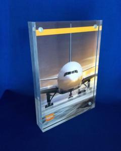 akrylblock med magneter A5