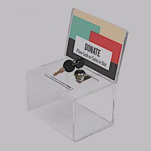 Akrylbox-Plexibox med lås