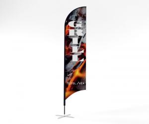 Beachflagga large 480 cm hög