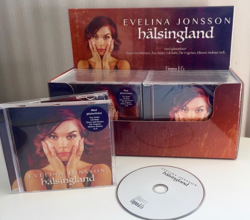 Bordsdisplay cd-skivor