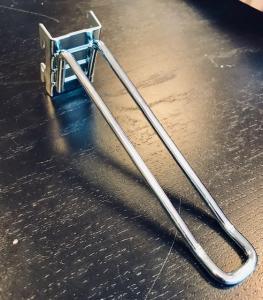 Dubbelspjut 150 mm  för perforerad plåt