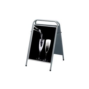 Gatupratare-Trottoarpratare  70x100  easy sign  silver