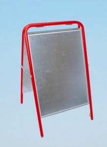 Gatupratare sign 50x70 cm röd