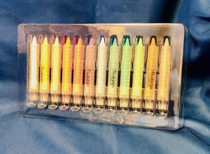 Griffelkritor 12 färger