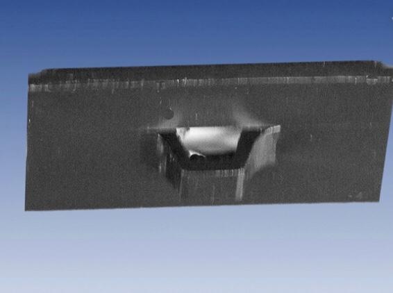 Hållare svart 26x14 mm