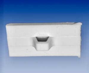 Hållare Jet fix 26 x 14 mm vit med skumtejp  1,30  kr / st  100 st / fp