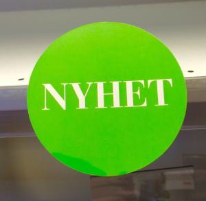 Hyllvippa 100 mm i diameter Nyhet