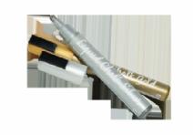Kalkpenna 55 mm rund gulsilver