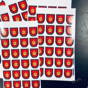 Dekaler - Stickers på ark
