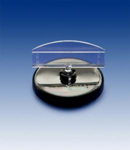 Menyhållare med magnet 50 mm rund