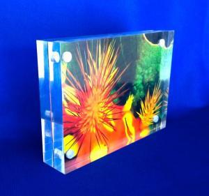 Akrylblock A6 30 mm med magneter