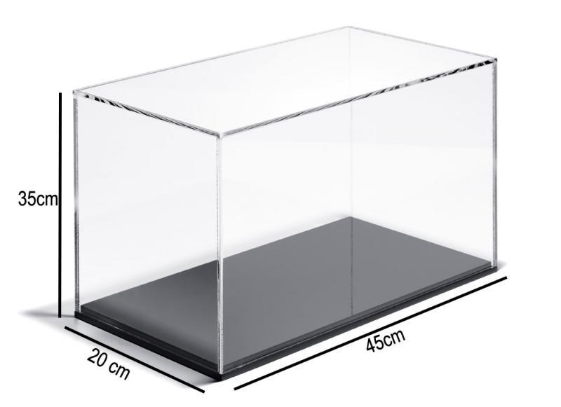 Plexihuv-akrylhuv 45x20x35 mm