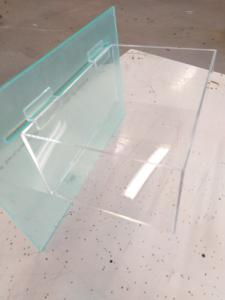Plexilåda spårpanel  290 x 200x130 sparpanel