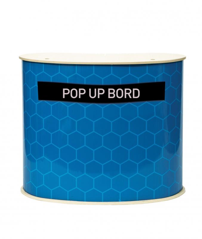 Mässbord pop up bord