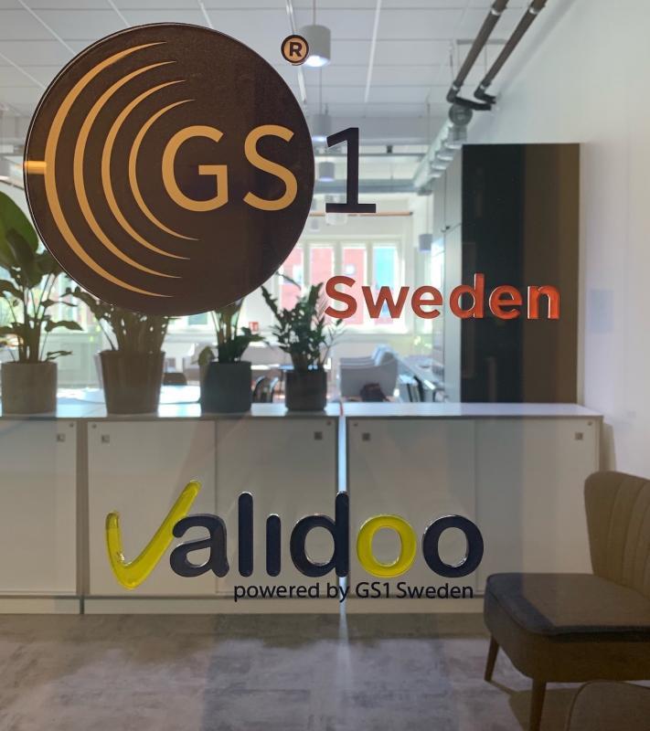 Logoskylt Valido - displayexperten