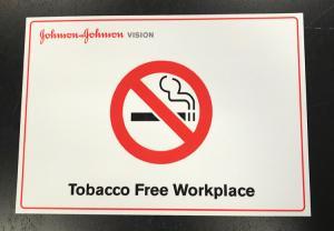 Skylt Rökning förbjudet