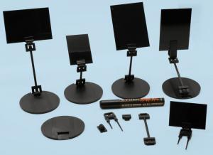 Skylthållare Startkit A8 A7 A7/ hållare, bord, hylla/ kalkpenna 91 delar