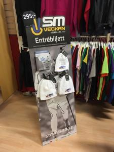 Standee 50 x1350  Skid-Sm  i Östersund 30 jan-5 Feb