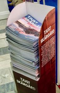 Tidningställ A4 format med egen design