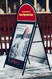 Trottoarpratare 70x100 Deluxe sign