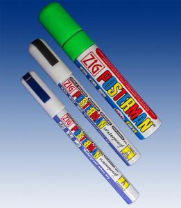 Vattenfast penna 0,5 spets