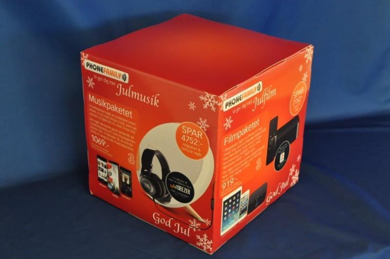 Pappbox 280x280x280