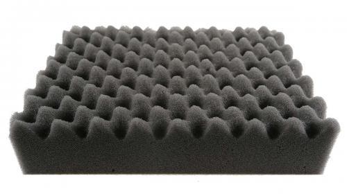 """Tvättsvamp, grå våfflad 200x150 mm """"taggsvamp"""""""