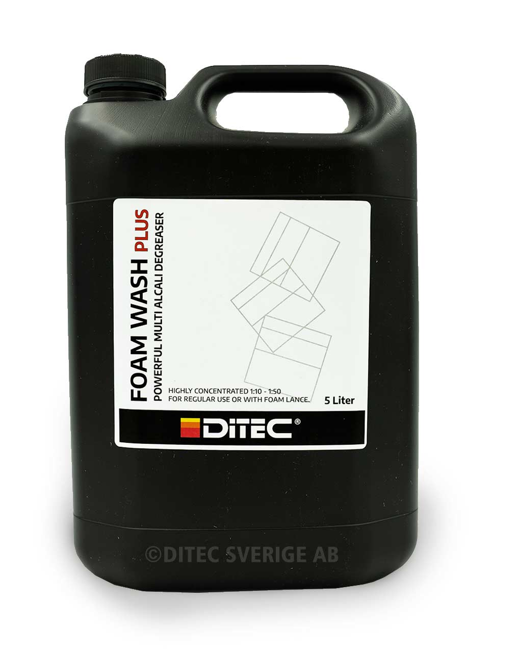 Ditec Foam Wash Plus 5 liter