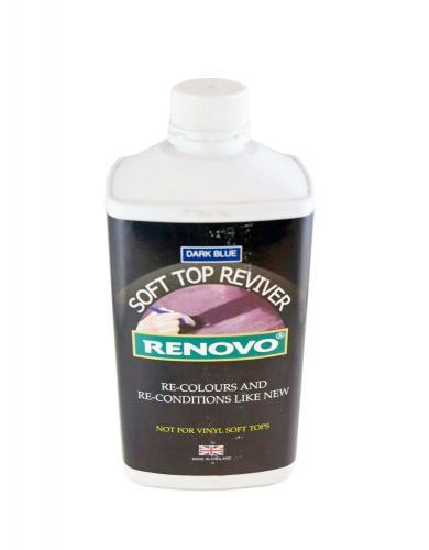 Soft Top Reviver, Blå 1 Liter, infärgningsvätska för cabriolet