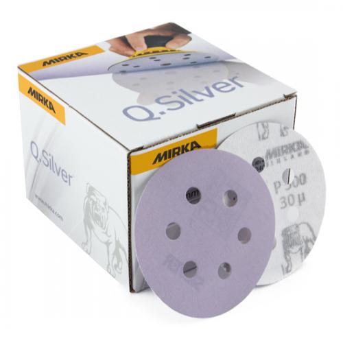 Mirka Q-Silver P1000 Torrslip 77mm 50-pack