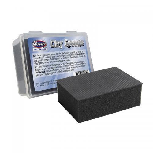 Glosser Pro Clay Sponge in box