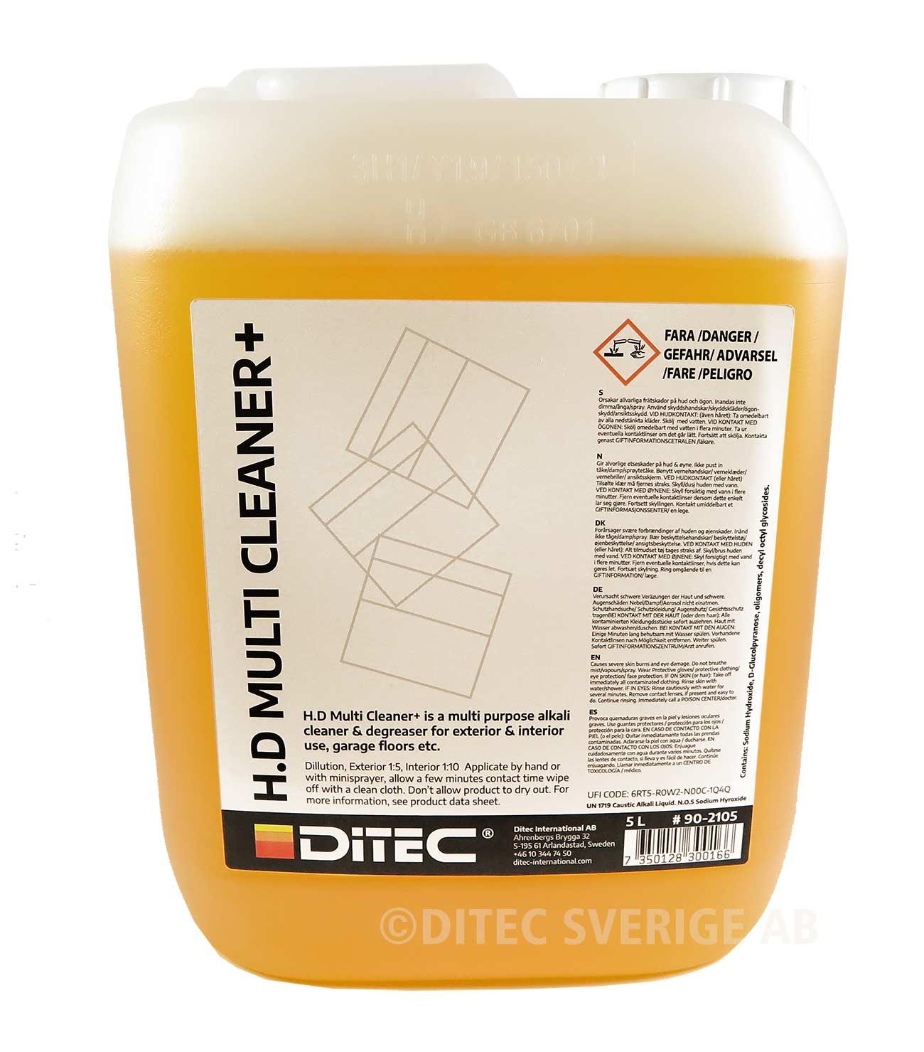 Ditec H.D Multi Cleaner Plus 5 Liter