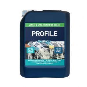 Concept Profile Wash & Wax schampo 5 Liter