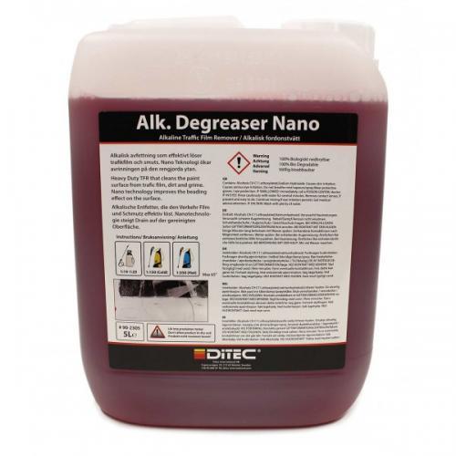 Ditec Alkalisk Degreaser Nano, 5 Liter