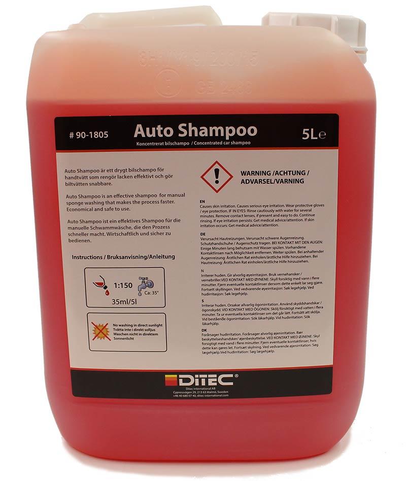 Ditec Auto Shampoo 5 Liter