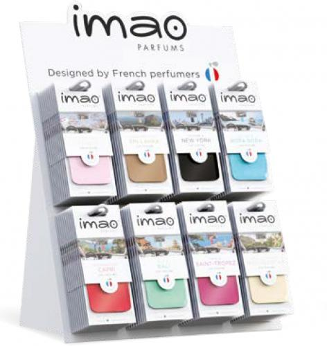 Imao Parfums Display med 10 x 8 dofter