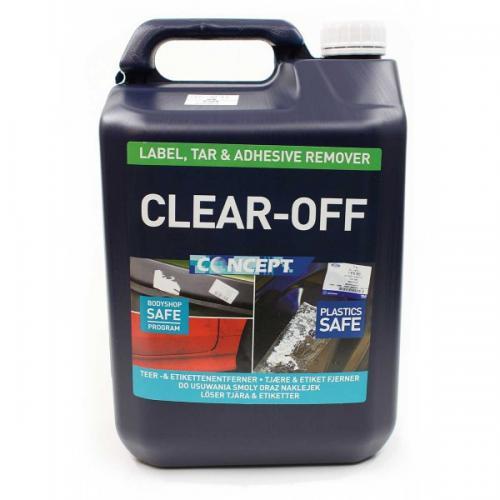 "Concept Clear-off ""limlösare"" 5 Liter"