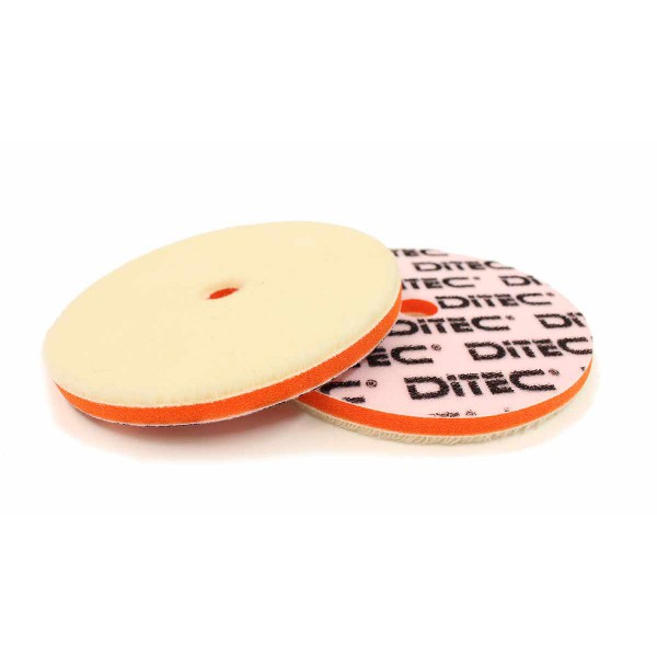 DITEC Wool Pad Ø 135x15 mm Vit 2-pack