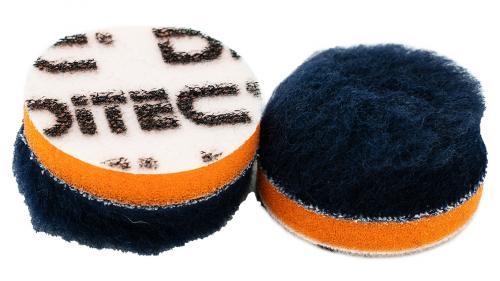 DITEC Wool Pad Ø 40 mm Blue/Orange 5-pack