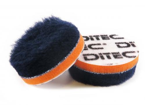 DITEC Wool Pad Ø 60 mm Blue/Orange 5-pack