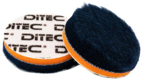 DITEC Wool Pad Ø 80 mm Blue/Orange 5-pack