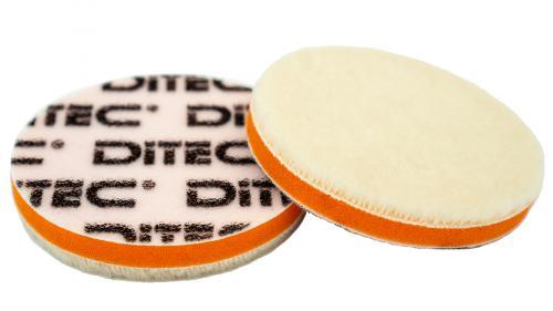 DITEC Wool Pad Ø 80 mm White 5-pack