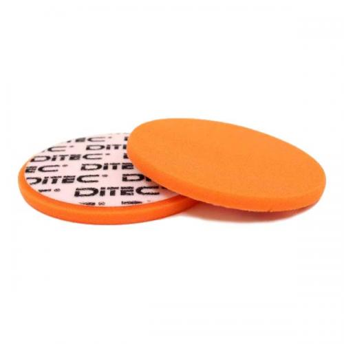 Ditec Polerrondell Ø 150x12 mm, Orange.