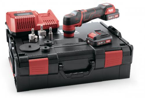 Flex Batteripolermaskin PXE80 10.8-EC Set
