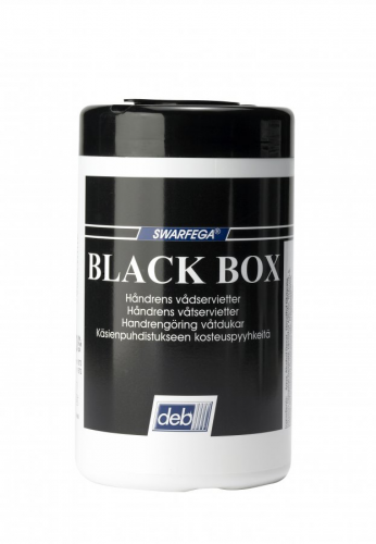 Black box rengöringsservett 50st/hink