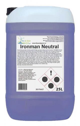 Ironman Neutral - syrafri fälgrengöring 25 Liter