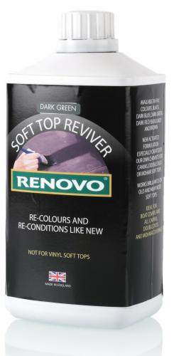 Soft Top Reviver mörkgrön 1 Liter