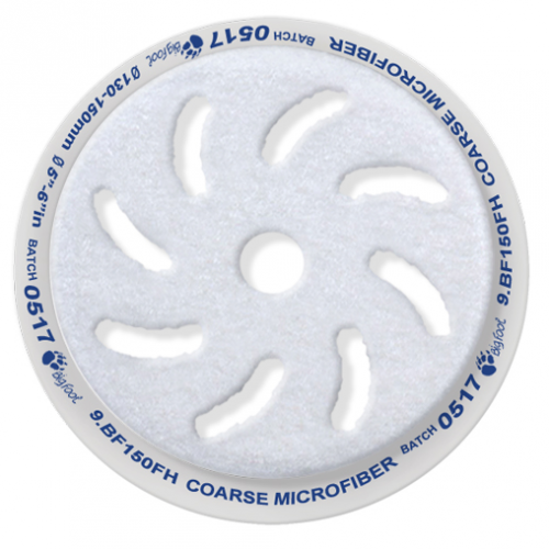 Rupes Ø 100x80 mm. Blå Microfiberpad.